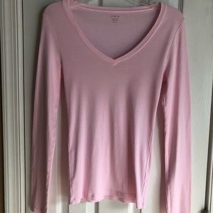 JCrew Perfect Fit Fitted T women's long sleeve M
